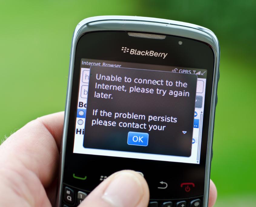 Kein Telefonnetz
