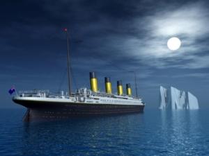 Titanik Eisberg