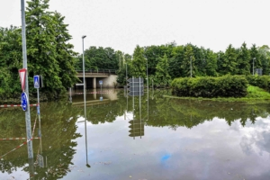 Hochwasser in Wesseling